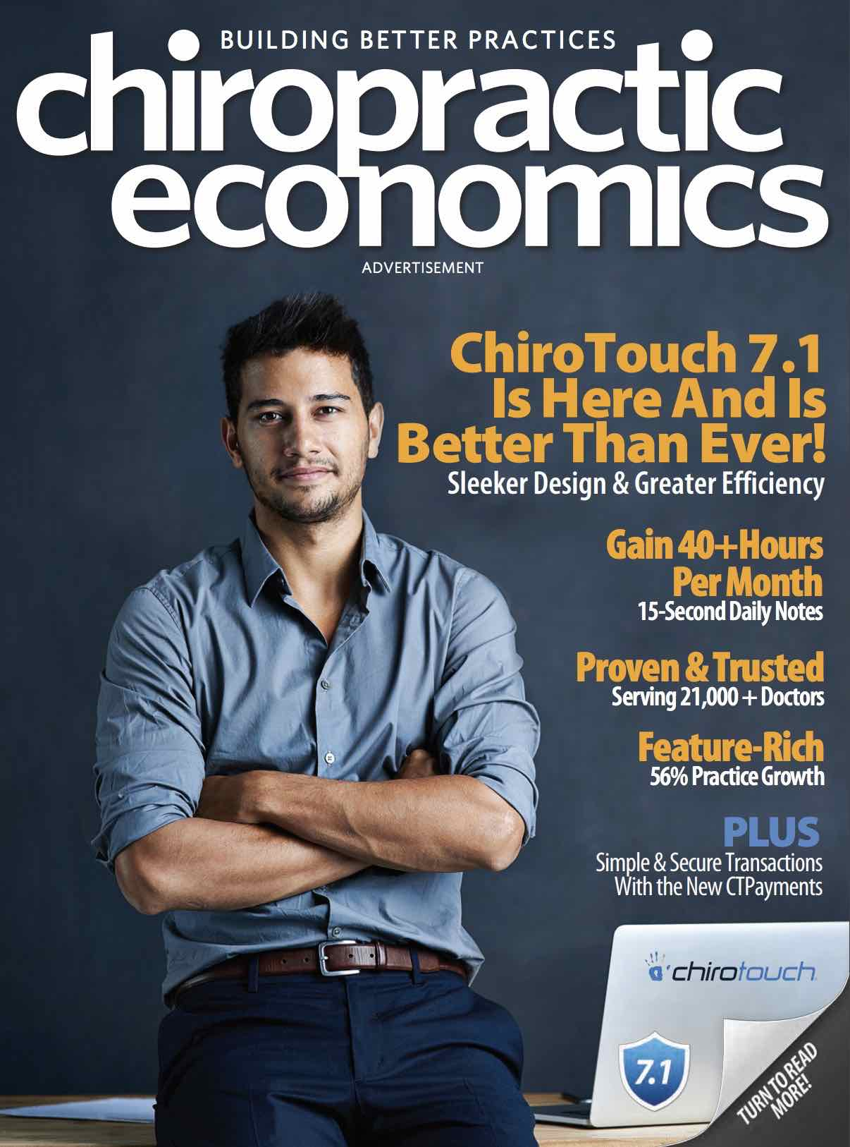 Dr. James Fedich Featured in Chiropractic Economics